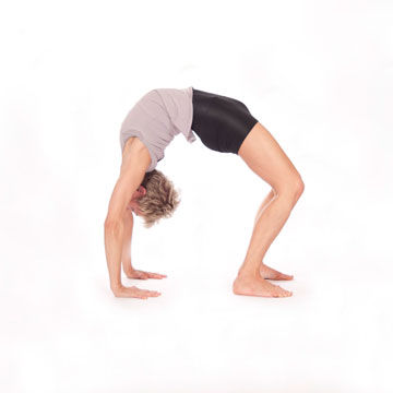 Urdhva Dhanurasana --- Upward Facing Bow Pose