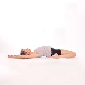 Supta-Virasana---Reclined Hero's Pose