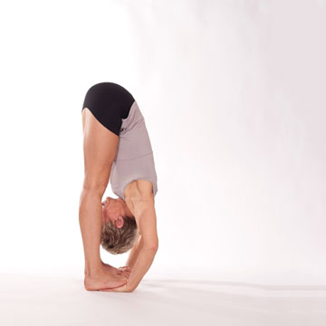 Padahastasana -- Feet on Hands Pose