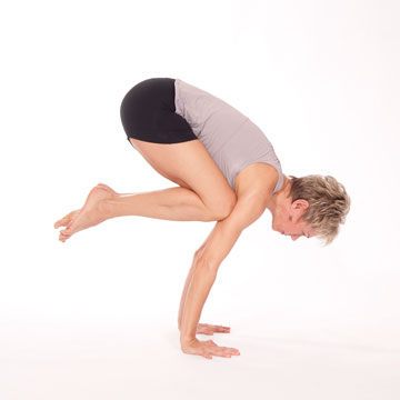 "Bakasana --- Crane Pose also called ""Crow"" Pose"