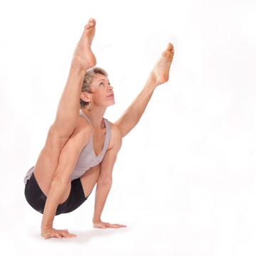 Tittibhasana --- Firefly Pose (Traditional Variation)
